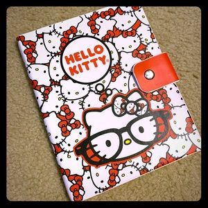 NEW Hello Kitty Loungefly 6x8 notebook